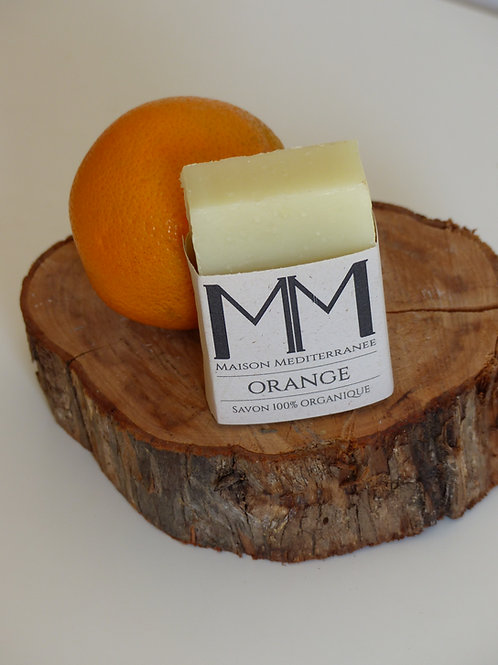 Orange care soap - 100 g