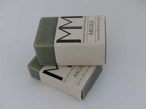 Care soap with Green Clay - 175 g