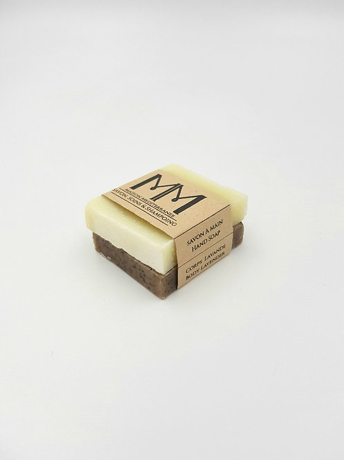 Room soap for hotels x2