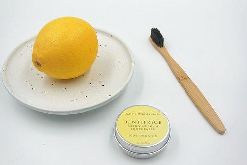 Dentifrice à l'Huile essentielle de Citron