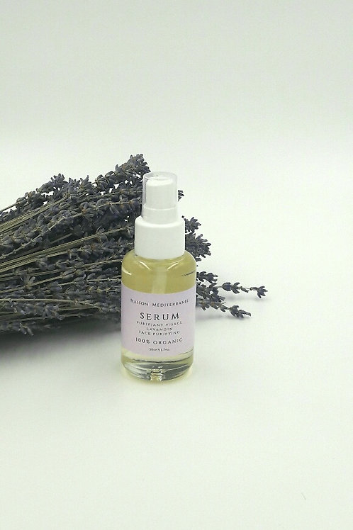 Purifying face serum with Lavandin