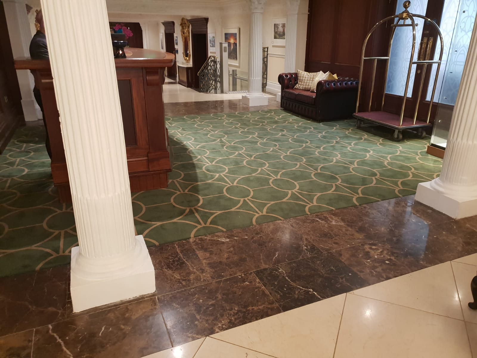 Reception Carpet