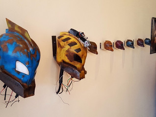 """""""Robots"""" Fiction Science gallery show reception"""