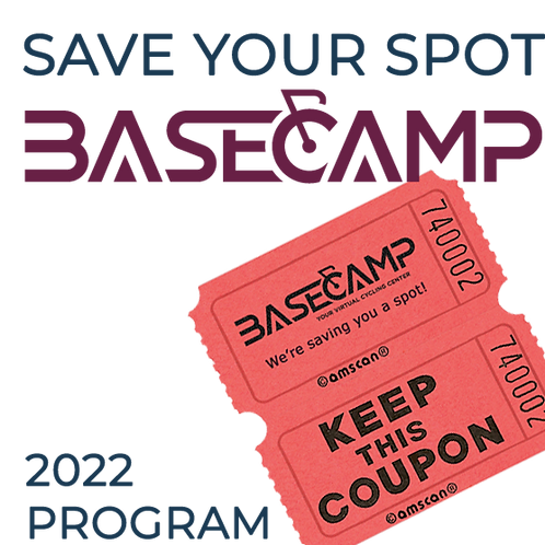 Save Your Spot in BaseCamp 2022