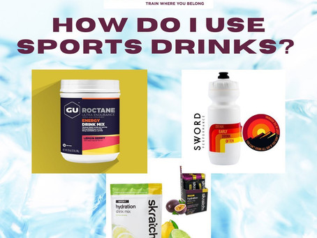 How to use sports drinks in cycling