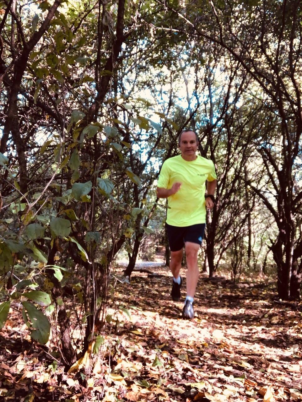 Tim Cusick of BaseCamp trail running