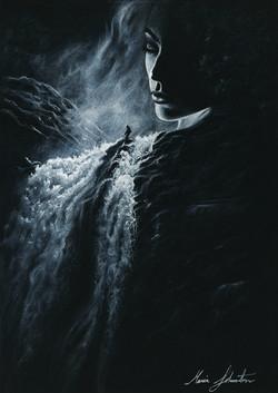 She's a waterfall