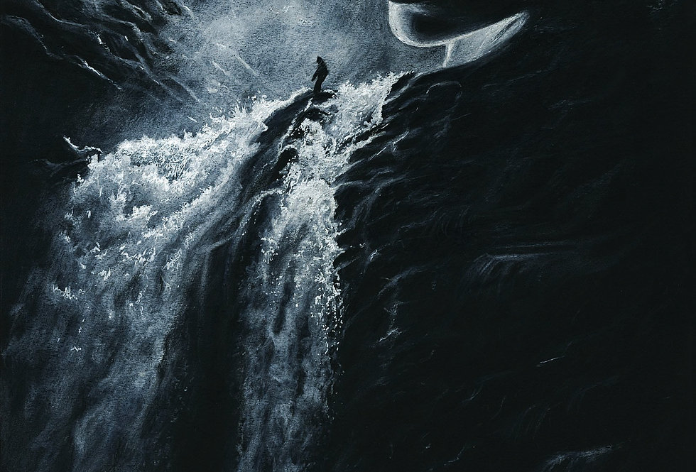 'She's a Waterfall' - Print