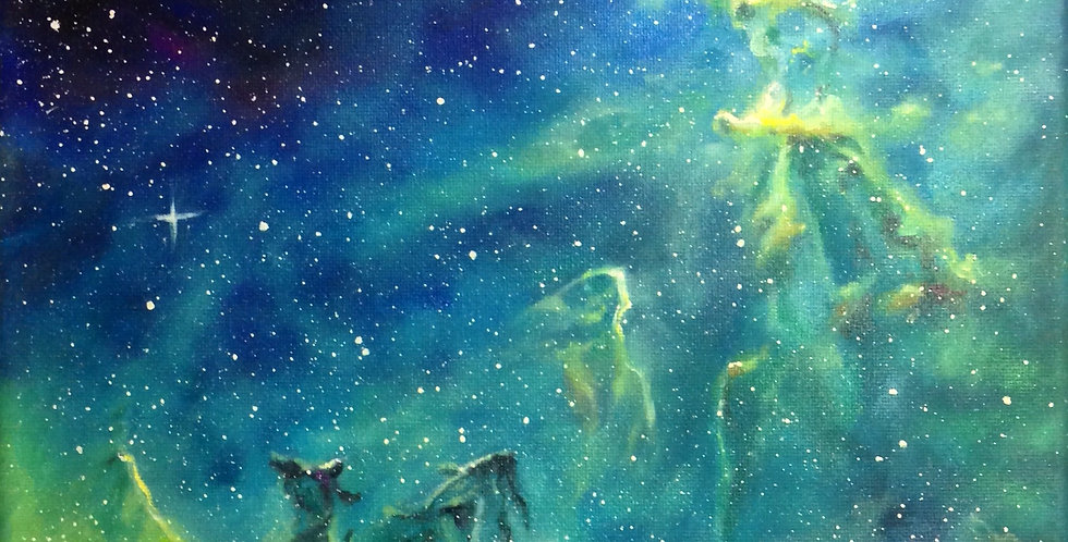 'The Birth of Our Stars II' Original Painting