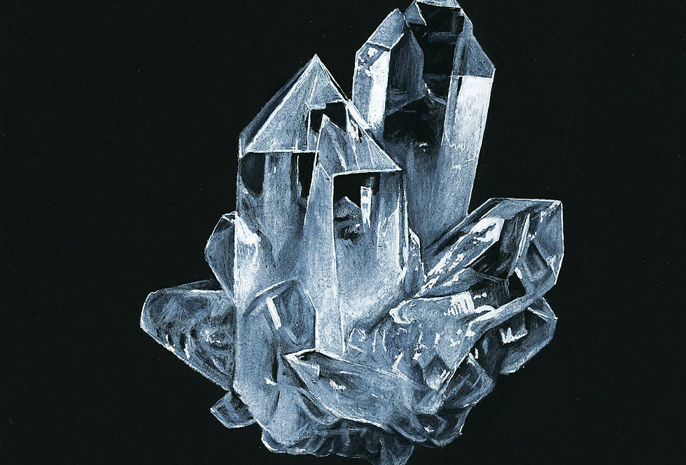 Quartz Crystal - Print