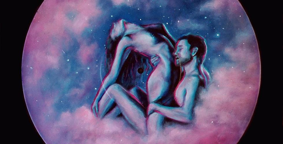 Cloud 69 - Vinyl Painting (Framed)