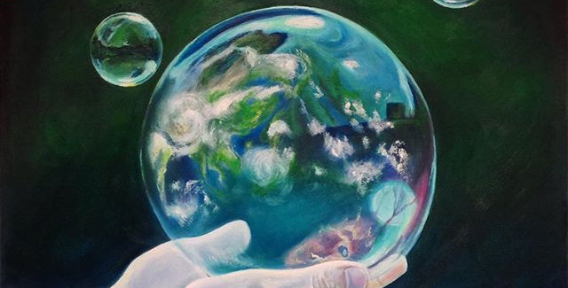 'Our Fragile Earth' -  One size on Archival  Print