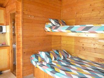 camas cabaña pequeña