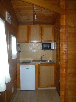cocina cabaña pequeña