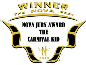 Carnival Kid Wins Prestigious Award
