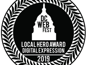 Joey Fama Wins DC Webfest's Local Hero Award