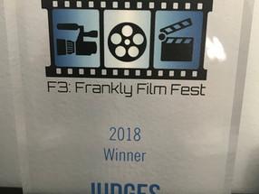 Carnival Kid Wins Big at F3 Film Festival