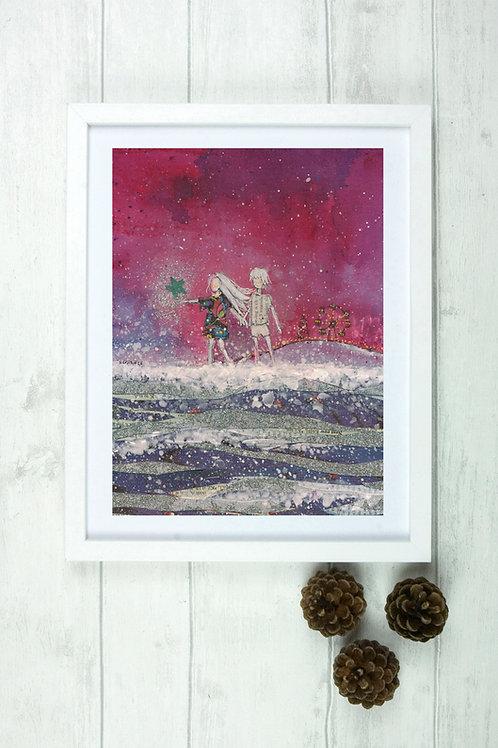 'Starfish 3' -Fine Art Giclee Print
