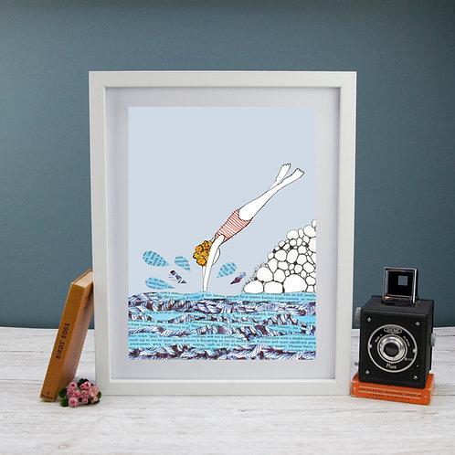 'Splash'- Fine Art Giclee print
