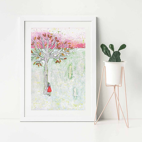 'Where I Waited Before'- Fine Art Giclee print