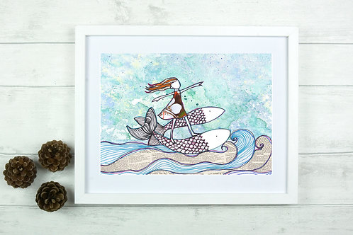 Fine Art Giclee Print - 'Pisces'