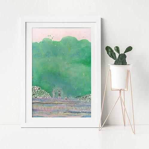 'You Are My Sunshine'- Fine Art Giclee print