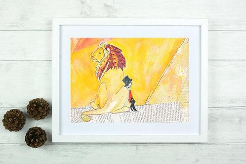 Fine Art Giclee Print - 'Leo'