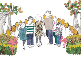 Angela, Lottie, Lucas, Max, Lucie and Ralphie