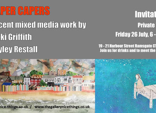'Paper Capers' exhibition now open!