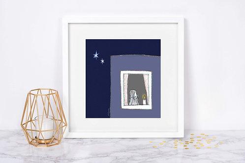 'My Stars' - Fine Art Giclee Print with donation