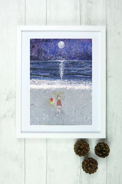 'Starfish' -Fine Art Giclee Print