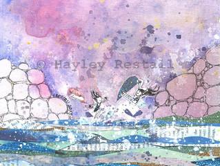 New painting - Lagoon