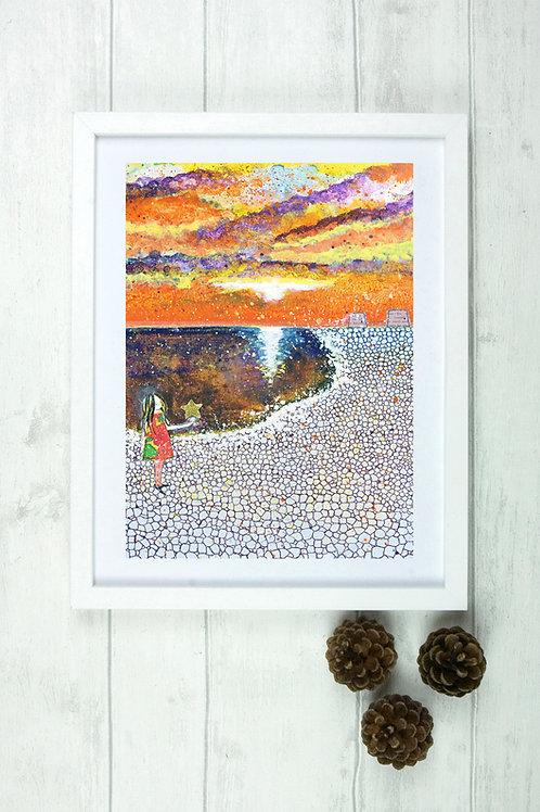'Starfish 2' -Fine Art Giclee Print