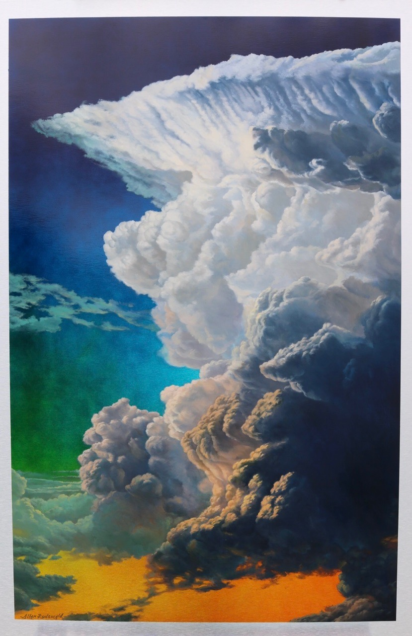 "Cloud with no Name | 48"" x 32"" 