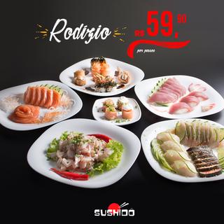 Sushidô - Maio - 2018 - Promoção Rodízio
