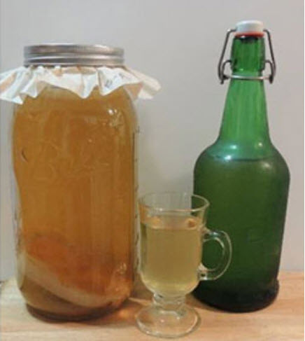 Kombucha, Kraut, Kimchi, and Kefir: Making Healthy Fermented Foods and Beverages