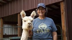 With Alpaca Friend