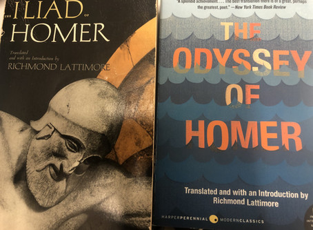 Reviewing the Classics I: Richmond Lattimore's Translations of Homer's Epics