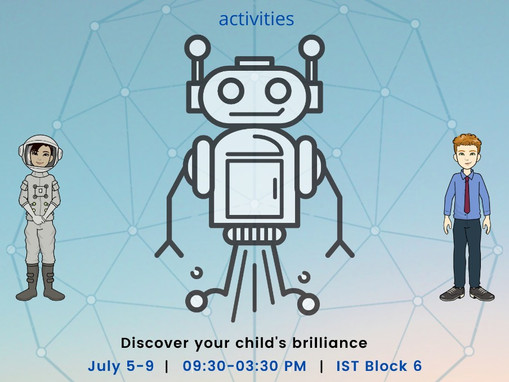 Artificial Intelligence Summer Camp for Minors at iVision Lab