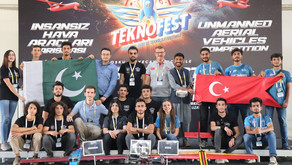 IST grabbed 1st position in the International Free Mission Unmanned Aerial Vehicles Competition
