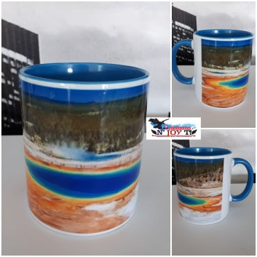 MUG BICOLORE Yellowstone