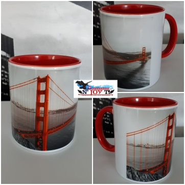 MUG BICOLORE Golden Gate