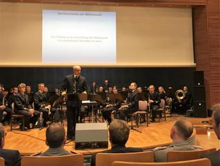 Konzert des Marinemusikkorps Kiel an der Führungsakademie