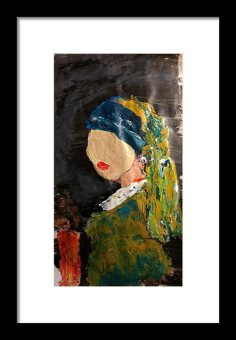 Girl with a Pearl Earring-Tribute