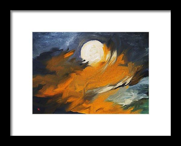 Fiery Moon