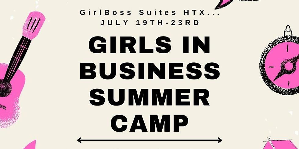 GirlBoss Jr Biz Summer Camp
