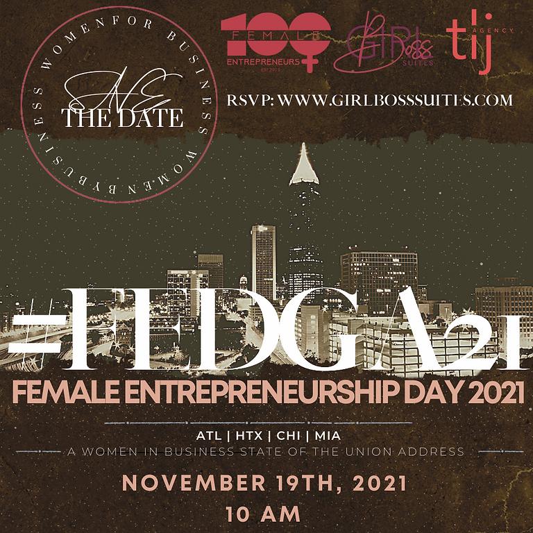 Female Entrepreneurship Day ATL