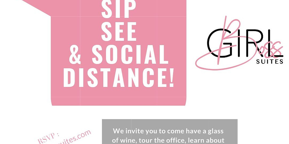 Sip, See, & Social Distance !