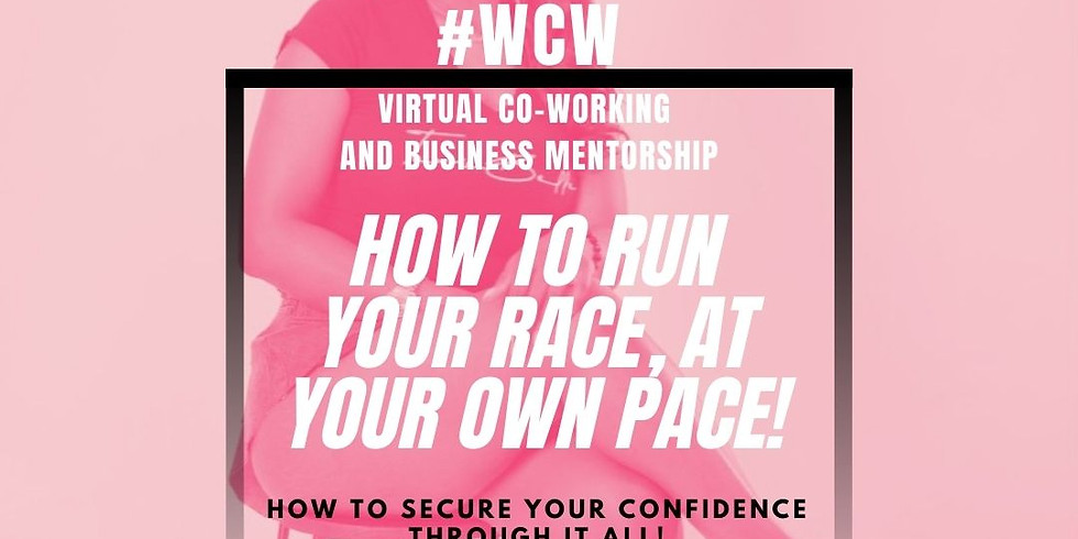 #WCW Virtual Co-working + Mentorship (Members Only)