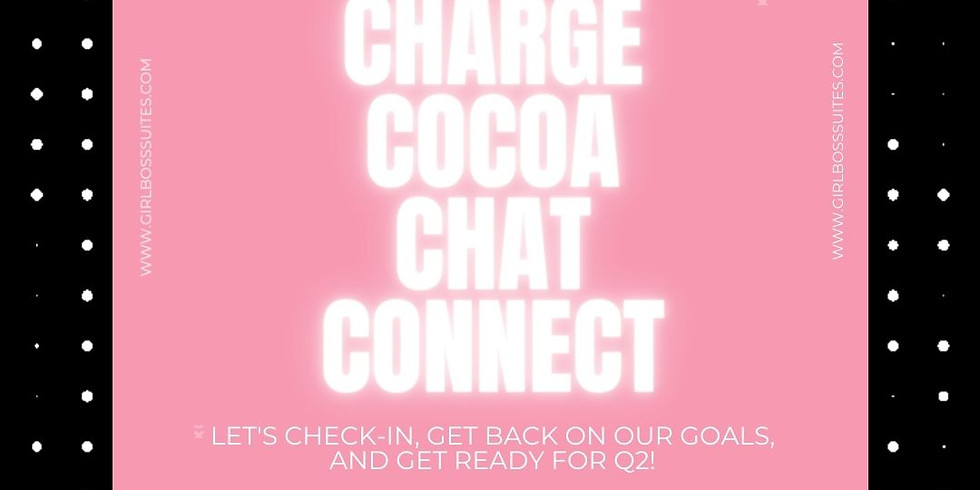 HTX: Charge, Cocoa, Chat, & Connect